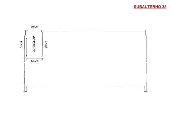 Immagine n0 - Planimetria - Piano terra - Asta 9199