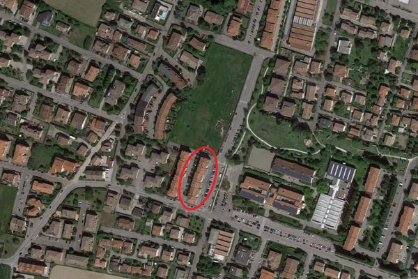 Immagine n1 - Planimetria - Vista aerea - Asta 9200