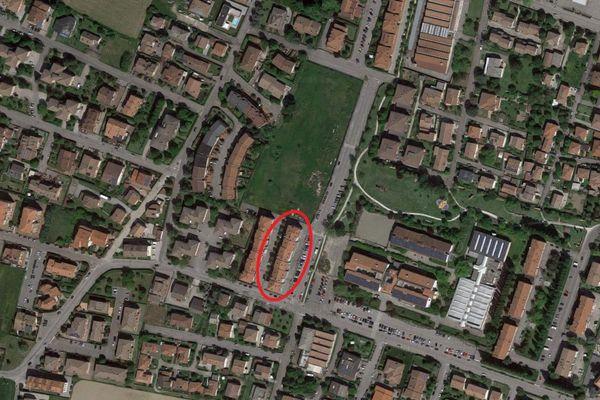 Immagine n1 - Planimetria - Vista aerea - Asta 9201