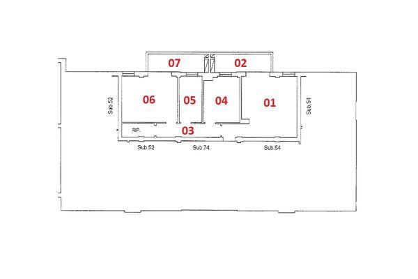 Immagine n1 - Planimetria - Piano primo - Asta 9201
