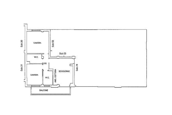 Immagine n1 - Planimetria - Piano primo - Asta 9202