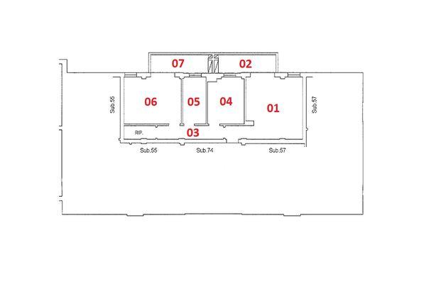Immagine n2 - Planimetria - Piano secondo - Asta 9203