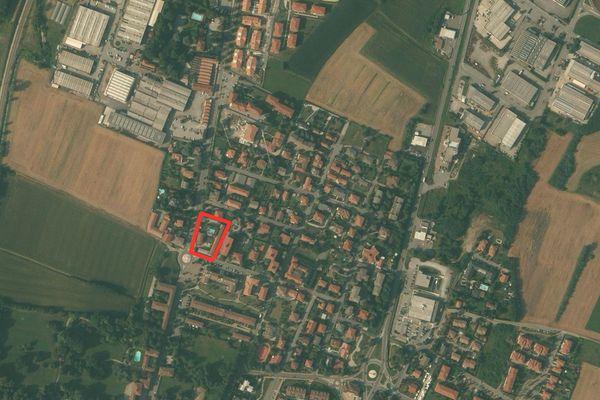 Immagine n0 - Planimetria - Vista aerea - Asta 921