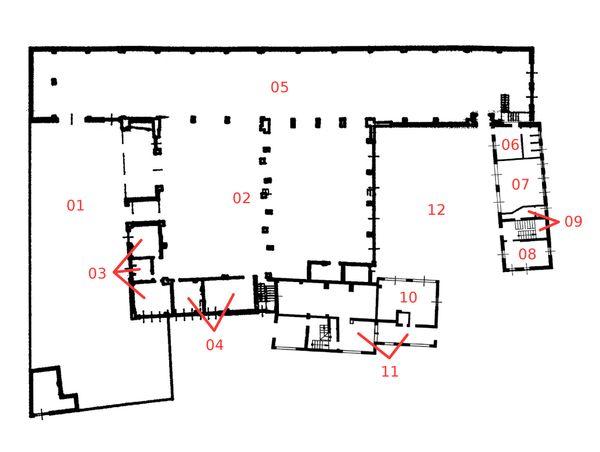 Immagine n11 - Planimetria - Piano terra - Asta 921