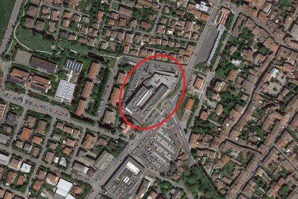 Immagine n1 - Planimetria - Vista aerea - Asta 9213