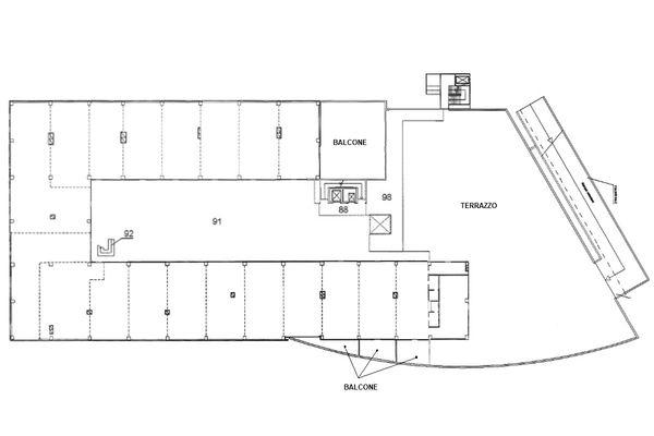 Immagine n1 - Planimetria - Piano primo - Asta 9213