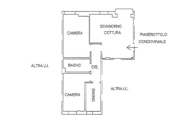 Immagine n1 - Planimetria - Piano primo - Asta 9222