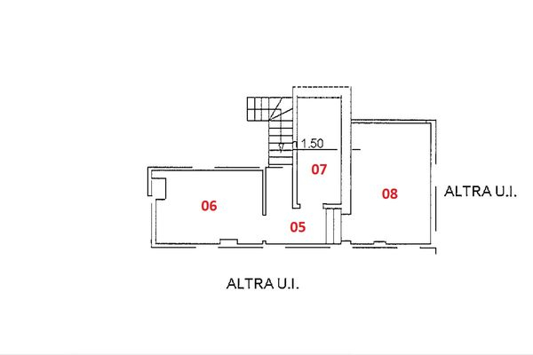 Immagine n1 - Planimetria - Piano quarto - Asta 9227