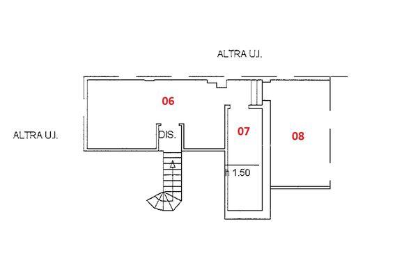 Immagine n1 - Planimetria - Piano quarto - Asta 9229