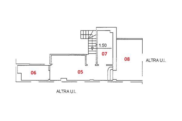Immagine n1 - Planimetria - Piano quarto - Asta 9230
