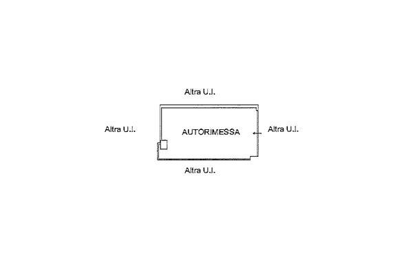 Immagine n1 - Planimetria - Piano interrato - Asta 9236