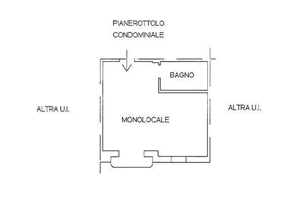 Immagine n1 - Planimetria - Piano primo - Asta 9245