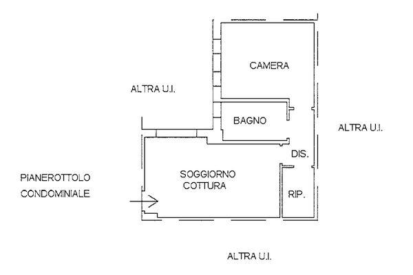 Immagine n1 - Planimetria - Piano primo - Asta 9246