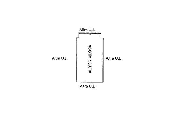 Immagine n1 - Planimetria - Piano interrato - Asta 9246