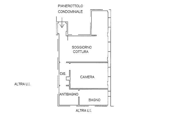 Immagine n1 - Planimetria - Piano primo - Asta 9247