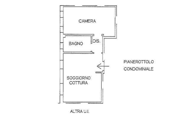 Immagine n1 - Planimetria - Piano secondo - Asta 9252