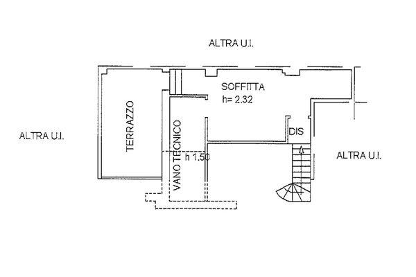 Immagine n1 - Planimetria - Piano quarto - Asta 9253
