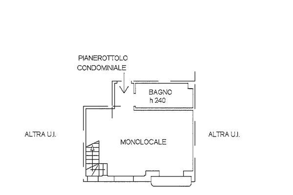 Immagine n1 - Planimetria - Piano terzo - Asta 9254