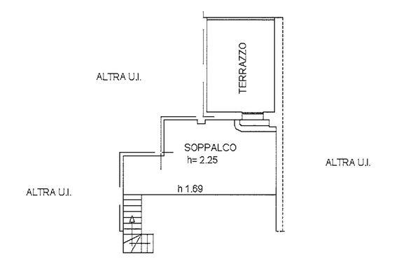 Immagine n1 - Planimetria - Piano quarto - Asta 9254