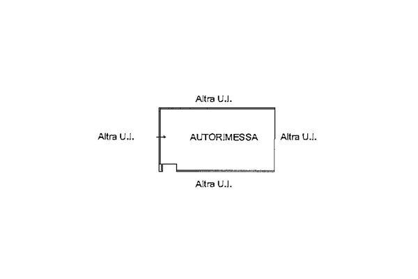 Immagine n1 - Planimetria - Piano interrato - Asta 9254