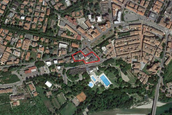 Immagine n0 - Planimetria - Vista aerea - Asta 9294