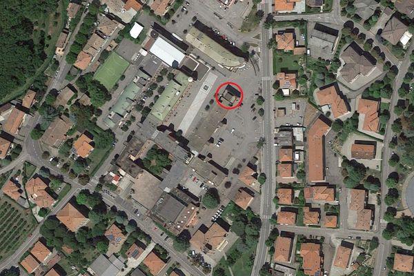 Immagine n0 - Planimetria - Vista aerea - Asta 9316