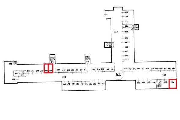 Immagine n0 - Planimetria - Piano interrato - Asta 9316