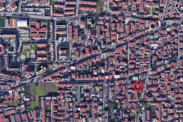 Immagine n0 - Planimetria - Vista aerea - Asta 9334
