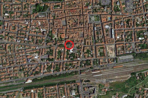 Immagine n0 - Planimetria - Vista aerea - Asta 9339