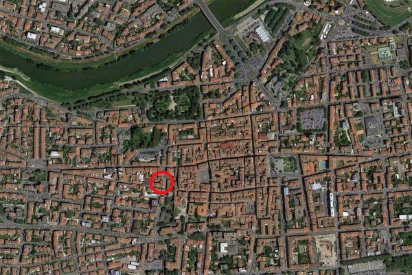 Immagine n0 - Planimetria - Vista aerea - Asta 9340