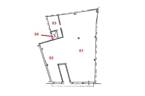 Immagine n1 - Planimetria - Piano terra - Asta 9354