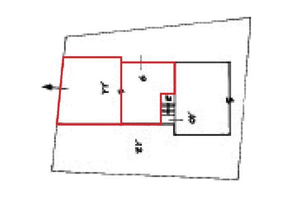 Immagine n2 - Planimetria - Piano seminterrato - Asta 9355