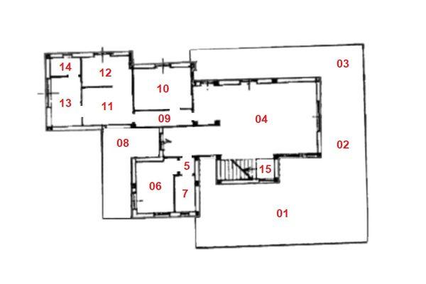 Immagine n1 - Planimetria - Piano terra - Asta 9356