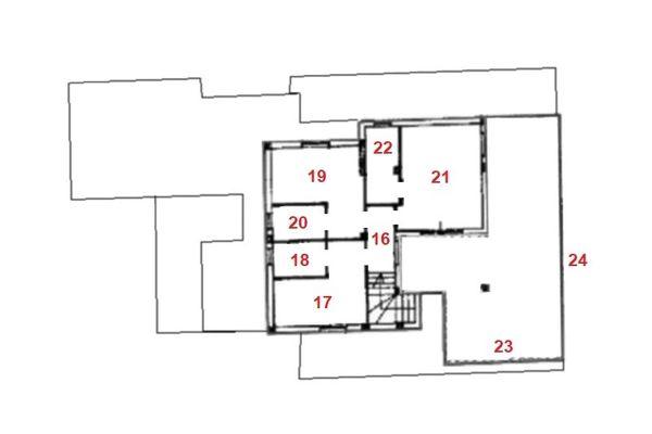 Immagine n2 - Planimetria - Piano primo - Asta 9356