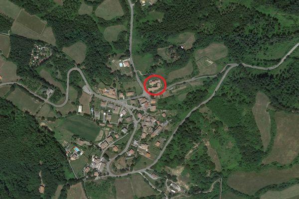 Immagine n0 - Planimetria - Vista aerea - Asta 9367