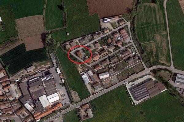 Immagine n0 - Planimetria - Vista aerea - Asta 9379