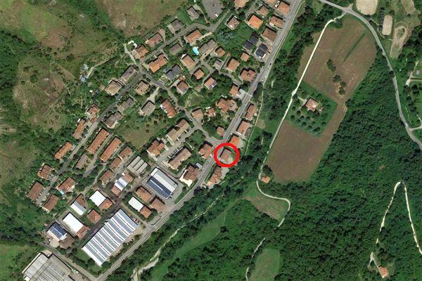 Immagine n0 - Planimetria - Vista aerea - Asta 9383