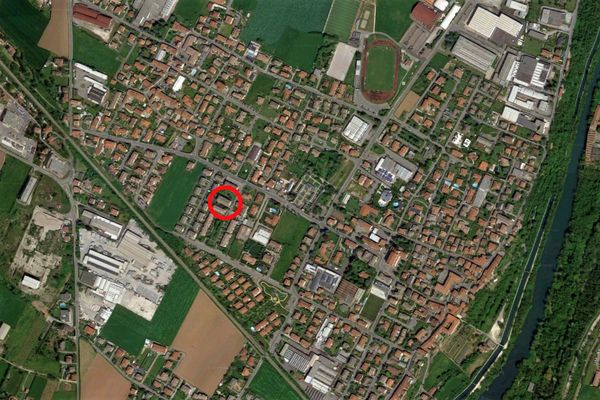 Immagine n0 - Planimetria - Vista aerea - Asta 9384