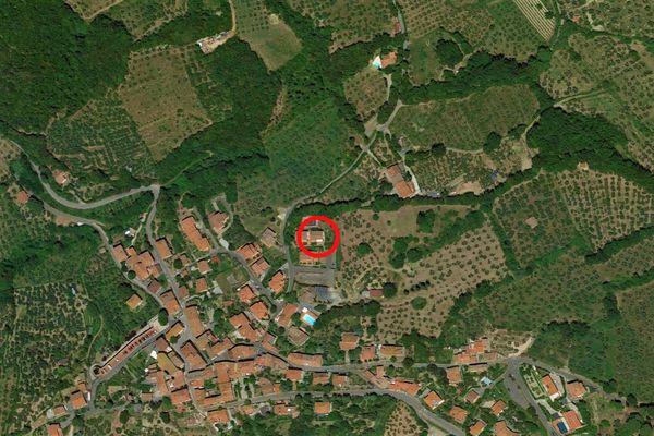 Immagine n0 - Planimetria - Vista aerea - Asta 9385