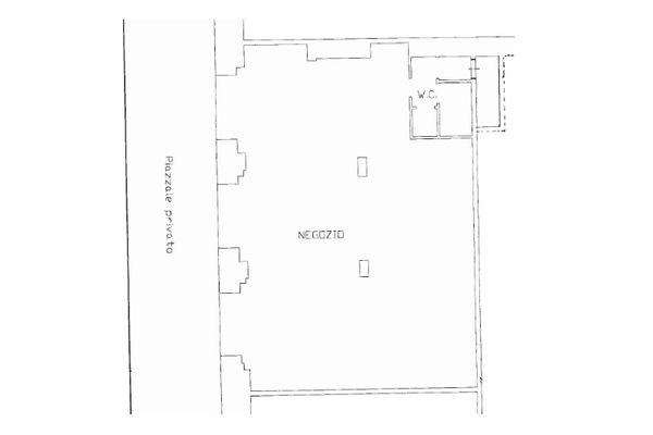 Immagine n0 - Planimetry - Ground floor - Asta 9403