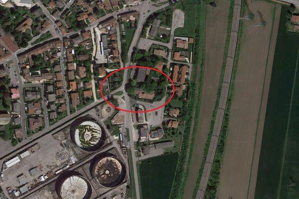 Immagine n0 - Planimetria - Vista aerea - Asta 9422