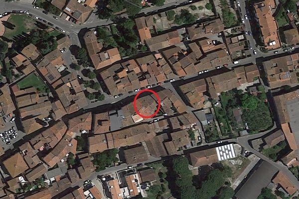 Immagine n0 - Planimetria - Vista aerea - Asta 9427