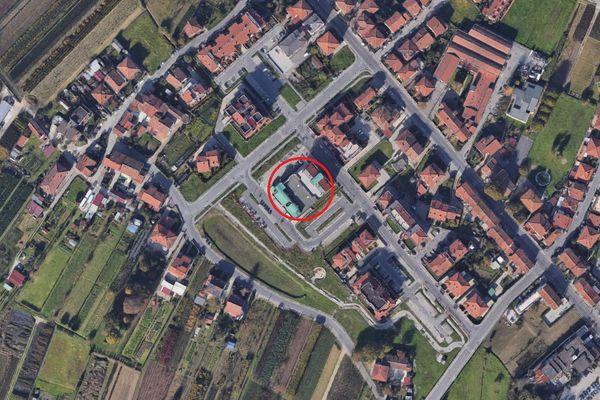 Immagine n0 - Planimetria - Vista aerea - Asta 9434
