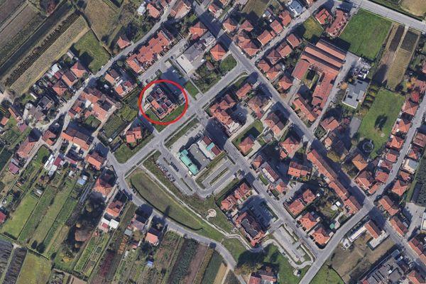 Immagine n0 - Planimetria - Vista aerea - Asta 9442