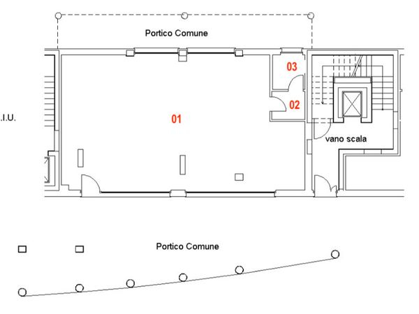 Immagine n2 - Planimetria - Piano terra - Asta 9465