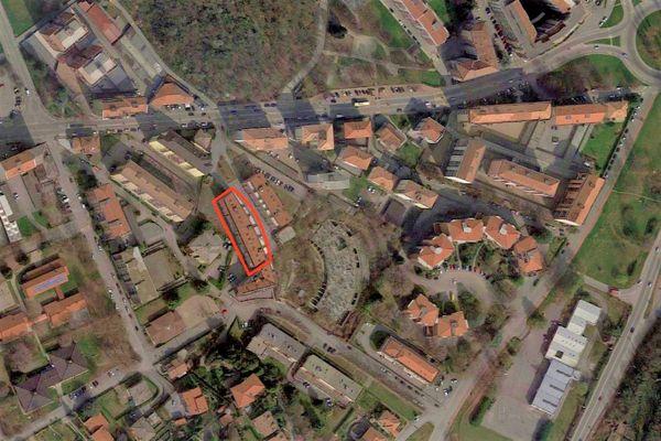 Immagine n2 - Planimetria - Vista aerea - Asta 9466