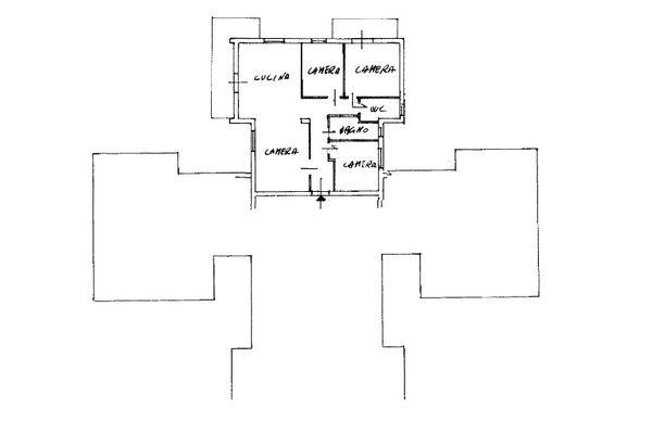 Immagine n1 - Planimetria - Piano terzo - Asta 9476
