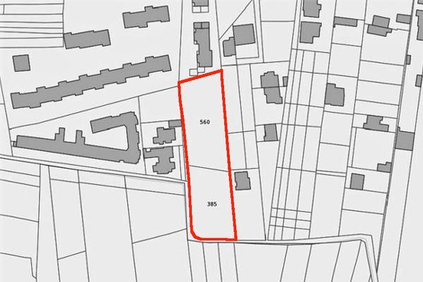 Immagine n1 - Planimetria - Estratto di mappa - Asta 9510