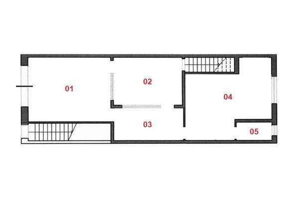 Immagine n1 - Planimetria - Piano terra - Asta 9512