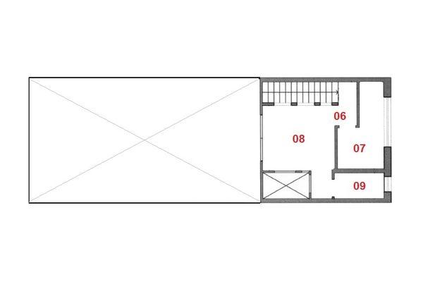 Immagine n2 - Planimetria - Piano ammezzato - Asta 9512
